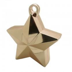 Rose gold stjerne ballonvægt 140 g