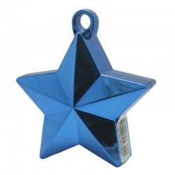 Blå stjerne ballonvægt 140 g