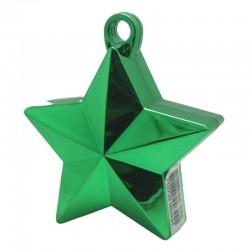 Grøn stjerne ballonvægt 140 g