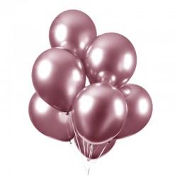 Chrome balloner pink, 10 stk. 30 cm.