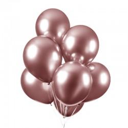 Chrome balloner rose gold, 10 stk. 30 cm.