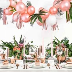 Rose gold Mini balloner borddækning