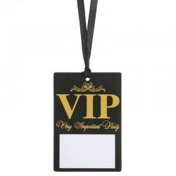 Sort VIP adgangspas 10 stk