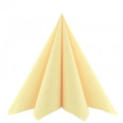 airlaid tekstilservietter sahara 40 x 40 cm. 12 stk.