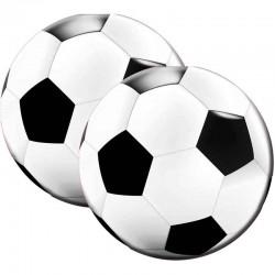 Runde fodbold servietter 20 stk