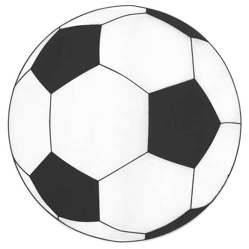 Dækkeserviet fodbold 6 Stk.