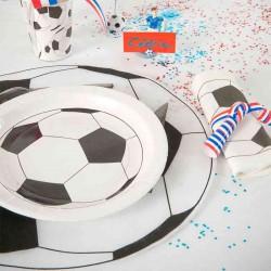 Dækkeservietter fodbold børnefødselsdag
