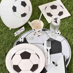 Dækkeservietter fodbold til fødselsdag