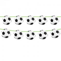 Guirlande med 15 fodbolde