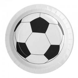 Tallerken fodbold 23 cm