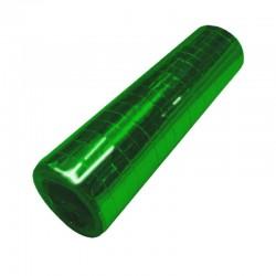 metallic grønne serpentiner. 1 stk