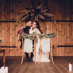 kunstig eukalyptus guirlande til bryllup