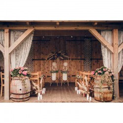 vintage bryllup kunstig eukalyptus guirlande