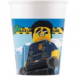 lego city papkrus. 200 ml. 8 stk