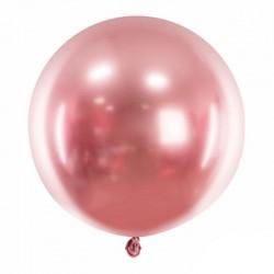 rose gold chrom ballon 60 cm
