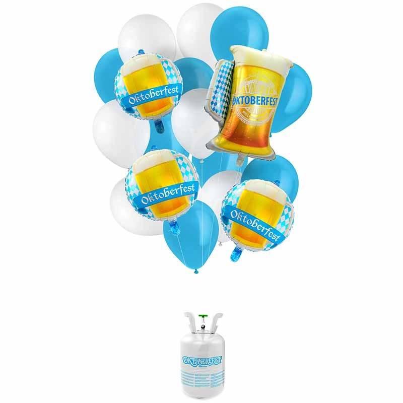 oktoberfest heliumflaske med balloner