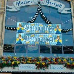 Udendørs dekoration gadebanner til Oktoberfest