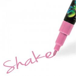 shake tusch lyserød fin 2,5 mm
