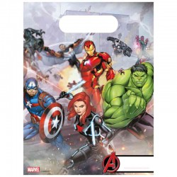 slikposer avengers 6 stk.