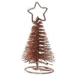 bordkortholder rose gold juletræ. 1 stk