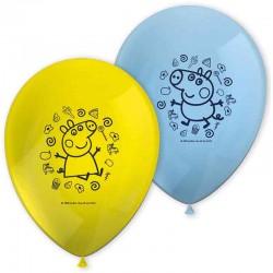 balloner gurli gris. 8 stk