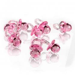 Små lyserøde sutter
