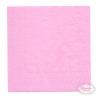 Lyserøde frokostservietter. 33 x 33 cm