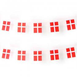 Flagguirlande 1 stk. DK
