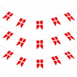 Flagguirlande DK