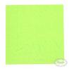 Lime frokostserviet. 33 x 33. cm