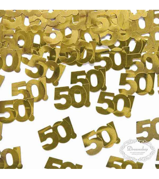 Konfetti tal 50 guld. 13 mm