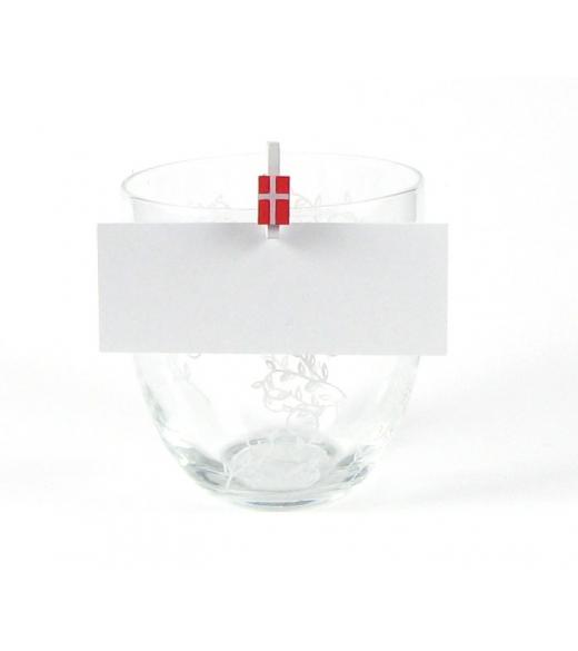 Hvide bordkort 10 stk