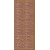 Stickers TILLYKKE kobber