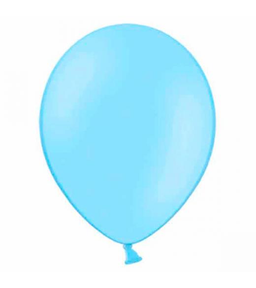 """Lyseblå balloner 12"""" - 10 Stk"""