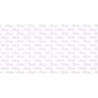 Barnedåbs-kort lyserødt 14 x 28 cm.