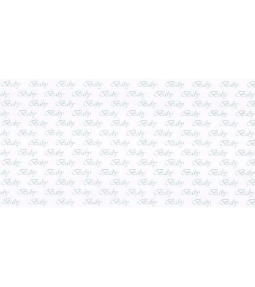 Barnedåbs-kort lyseblåt14 x 28 cm.