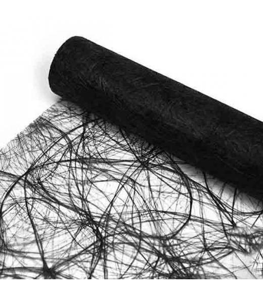Bordløber sizoweb sort 25 m