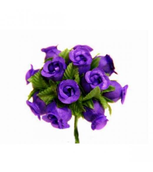 Mini rosenknop lilla