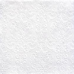Hvid Kaffeserviet Elegance