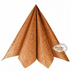 Bronze Middagsserviet Elegance