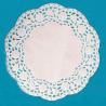Hvidt kagepapir 19 cm.