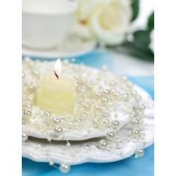 Bryllupspynt Creme perlekæde