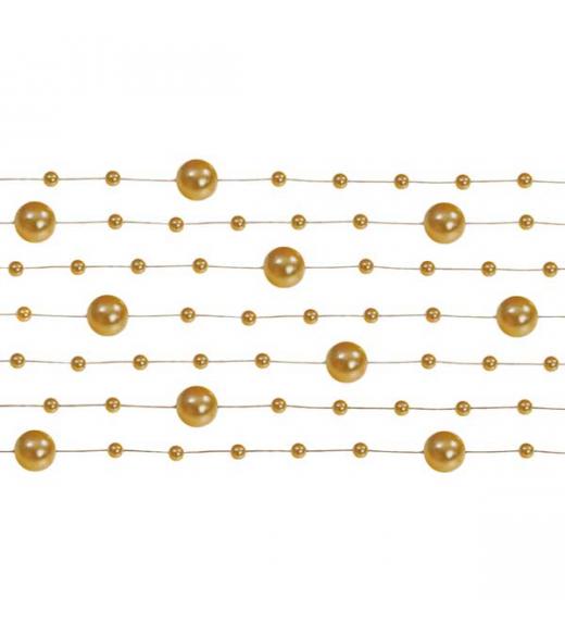 Guld perlekæde
