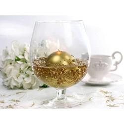 Guld perlekæde til dekoration