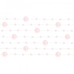 Lyserød perlekæde