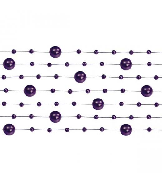 Violet perlekæde