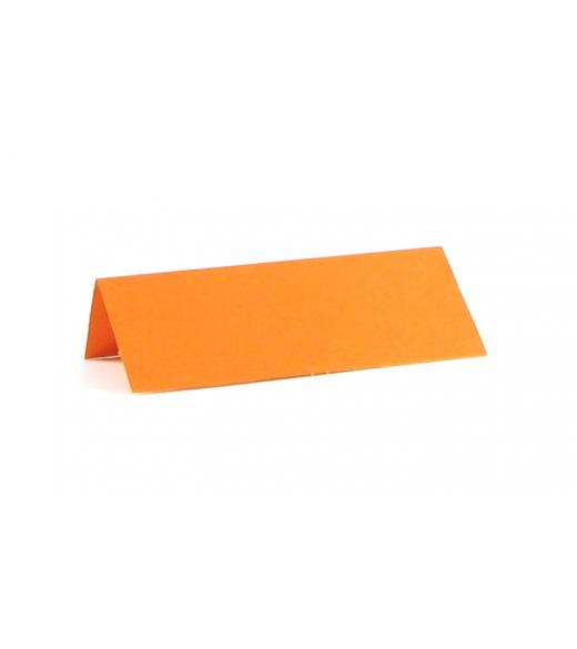 Glaskort orange. 10 stk.