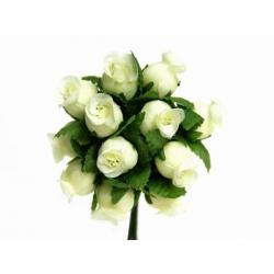 Mini rosenknop elfenben