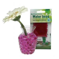 Pink små vandkrystaller. 35 g