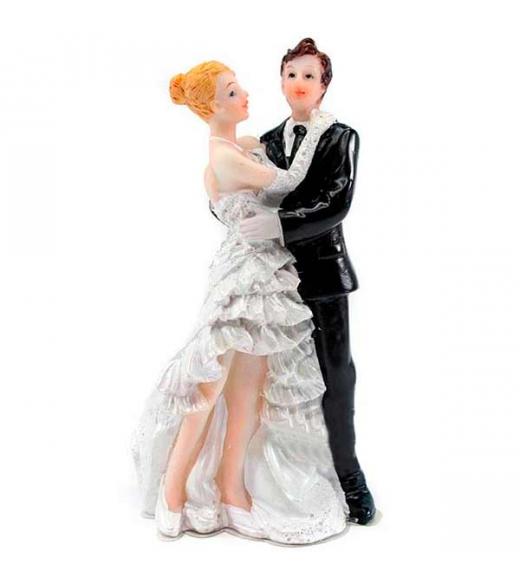 Brudepar Bryllupsfigur 11,5 cm